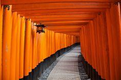 Fushimi Inari-taisha por Jean-Marie Hullot