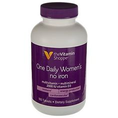 the Vitamin Shoppe One Daily Womens No Iron Multi 180 Tablets *** You can find out more details at the link of the image.