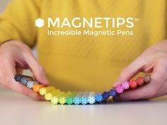 MAGNETIPS™ Incredible magnetic pens- Now on Kickstarter! Sebuah #pulpen yang sekaligus bisa dipakai sebagai pajangan #kulkas. Haha!