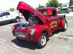 Stevie's Speed Shop '40 Willys Pick up