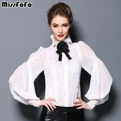 Buy Miss FoFo 2017 One Piece Shirt Slim Bow Women's Demi Season Casual Blouse 2017 Autumn Spring Fashion 2XL Sheer Chiffon 2 in 1 from Reliable blouse fashion suppliers on miss fofo Official Store
