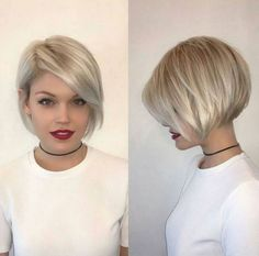 50 Medium Bob Hairstyles for Women Over 40 in 2019 - Best Wedding Style - bettysmith. - 50 Medium Bob Hairstyles for Women Over 40 in 2019 – Best Wedding Style – bettysmith. Bob Hairstyles 2018, Choppy Bob Hairstyles, Short Pixie Haircuts, Cool Hairstyles, Haircut Short, Haircut Styles, Wedding Hairstyles, Medium Hairstyles, Bob Haircut For Round Face