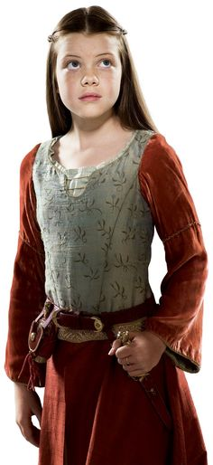 This is my favorite of Lucy's costumes in Prince Caspian.  #Narnia