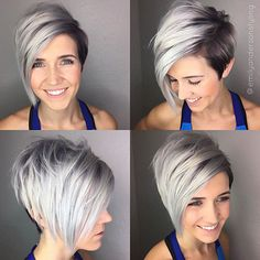 50 Long Pixie Cuts to Make You Stand Out in 2020 - Hair Adviser - - Bored with your current cropped hairstyle and looking for something new? Consider one of these 50 trendy long pixie cuts! Asymmetrical Pixie Cuts, Long Pixie Cuts, Long Pixie Bob, Short Asymetrical Haircuts, Fine Hair Pixie Cut, Best Pixie Cuts, Pixie Bob Haircut, Longer Pixie Haircut, Undercut Pixie