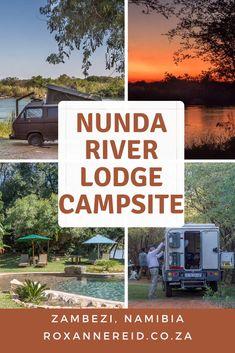 Nunda River Lodge's campsite, Zambezi, Namibia #Africa #travel #Namibia #camping