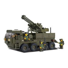 Military AA armored truck (LEGO compatible)