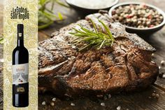 Wine & food pairings : Sassi Dautore Sangiovese pairs perfectly with a beef steak alla fiorentina