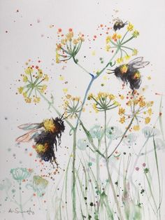Anna swift original aquarell malerei bumble bee british wildlife # # Anna swift original aquarell malerei bumble bee british wildlife # The post Anna swift original aquarell malerei bumble bee british wildlife # # appeared first on Blumen ideen. Bee Painting, Painting & Drawing, Bee Drawing, Painting Tattoo, Painting Inspiration, Art Inspo, Watercolor Flowers, Watercolor Art, Watercolour Paintings