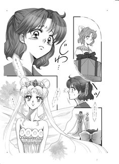 Naru finds out Usagi is a Earth queen