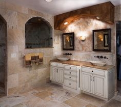 Custom bathroom created by Down Under Development - Photo by www.fireandearthphoto.com