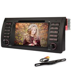 Generic 7 Inch In Dash  Car DVD Player GPS Navigation Digital Touchscreen for E39 with Rear Camera