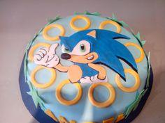 T'art creaciones: TARTA SONIC Sonic Birthday Parties, Sonic Party, Birthday Fun, Bolo Sonic, Sonic Cake, Hedgehog Birthday, Unicorn Birthday, Fondant Cakes, Sleepover