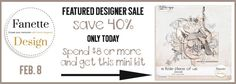 Save 40% Off Today only! Free Mini Kit with an $8 Purchase  through 11:59 PM EST February 8, 2015