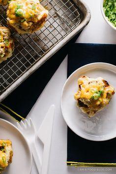 tuna melt waffle rec