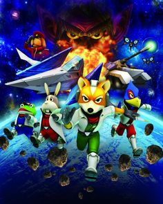 Starfox - Nintendo 64...can they make one for Wii already?!