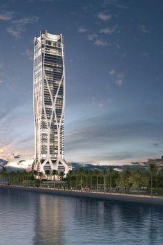 Edifício 1000 Museum em Miami -Zaha Hadid