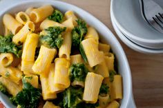 Rigatoni with Roasted Garlic Butternut Squash Sauce