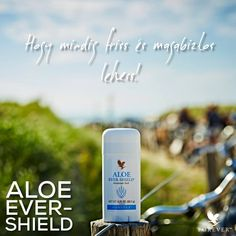 Hogy mindig friss és magabiztos lehess! #AloeEverShield #67 Personal Photo, Personal Care, Aloe Vera For Skin, Forever Aloe, Forever Living Products, Deodorant, Wellness, Health, Self Care