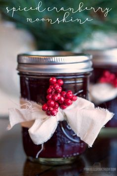 Spiced Cranberry Moonshine 1