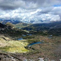 Majestueux paysage d'Andorre après une très dure randonnée. Mes muscles s'en souviennent encore aujourd'hui!!!