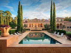 Neoclassical Chateau Style Estate - Houston, Texas