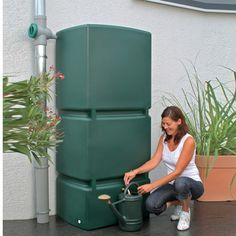 Rainwater harvesting systems - Rain water tanks Ireland for the storage of water for home and garden use. Rain harvesting tanks are water storage tanks for harvesting rainwater, rainwater harvesting systems use eco friendly tanks. Rainwater Harvesting System, Water From Air, Light Granite, Water Storage Tanks, Bokashi, Lawn Sprinklers, Water Collection, Rain Barrel, Water Conservation