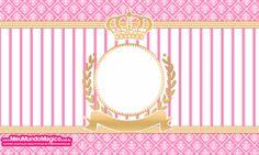 Cofre 10x6- Bisnaga Flip Top - Coroa Princesa