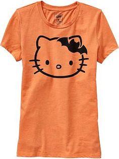 Women's Hello Kitty® Halloween Tees | Old Navy