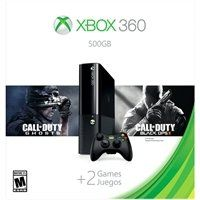 Xbox 360 500GB Value Bundle with Call of Duty:Black Ops II & Call of Duty:Ghosts