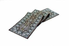 """Rennie & Rose Morris Table Runner, 76-Inch by Rennie & Rose. $29.68. Machine wash cold, lay flat to dry. Dry clean for best results. Rennie & Collection-Multi Color-Table Runner 76"""". Poly/cotton/acrylic. One Sided Design. The Rennie & Rose Arts and Crafts Collection brings the detail and artistry of a much beloved and timeless era to any home decor. Patterns inspired by flora and fauna, tiles, and stained glass use both bold and delicate forms and colors to tran..."""