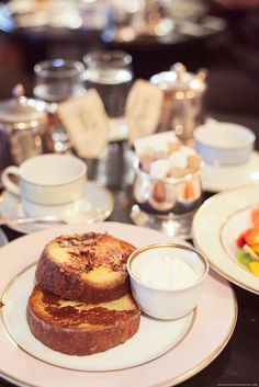 Birthday Breakfast at Ladurée, Paris, France