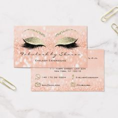 Small gift certificate skinny glitter lash makeup luxury gifts makeup eyebrow lashes extension glitter fb peach business card glitter glamour brilliance sparkle design idea solutioingenieria Gallery