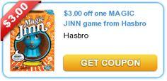 $3.00 off one MAGIC JINN game from Hasbro