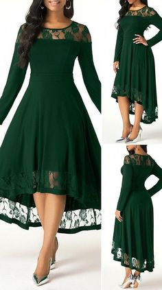 Elegant Dresses For Women, Stylish Dresses, Pretty Dresses, Beautiful Dresses, Casual Dresses, High Low Dresses, Dresses For Sale, Frock Fashion, Women's Fashion Dresses