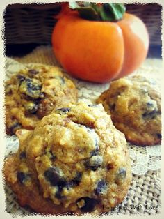 Homespun With Love: Loaded Pumpkin Gluten Free Cookie