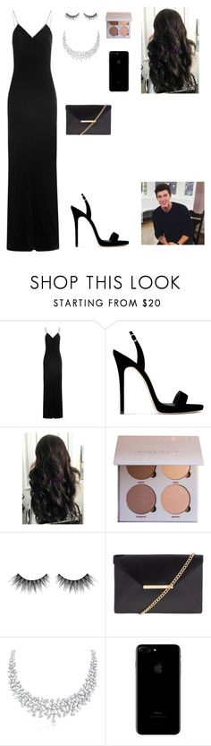 """""""Shawn's birthday party"""" by ariespinosa333 ❤ liked on Polyvore featuring Mes Demoiselles..., Giuseppe Zanotti, Huda Beauty and MICHAEL Michael Kors"""