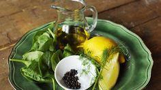Stekt makrill med dillsås | SVT recept