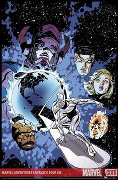 MARVEL ADVENTURES FANTASTIC FOUR #26 - Comic Art Community GALLERY OF COMIC ART