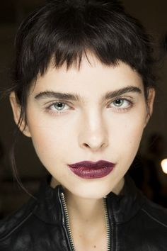 See beauty photos for Rodarte Fall 2016 Ready-to-Wear collection.