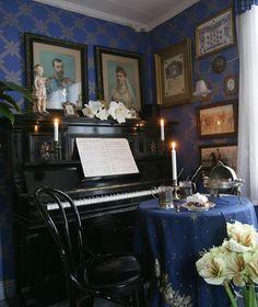 interior, coffee house in Porvoo