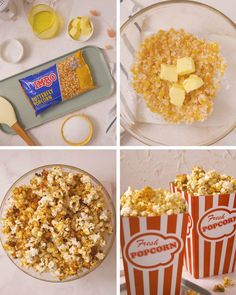 Who knew microwave popcorn could also be the easiest-ever caramel corn? This perfect popcorn is ideal as an after school snack, easy dessert or sweet movie night snack. Popcorn Recipes, Sweets Recipes, Candy Recipes, Easy Desserts, Whole Food Recipes, Microwave Caramels, Microwave Popcorn, Microwave Recipes, Night Snacks