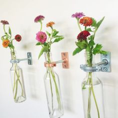 Decorative Glass Wall Vases