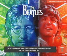 ‪#‎ONTHISDAY‬: in 1964, The Beatles start their North America takeover on the Ed Sullivan Show.