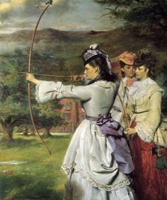 William Powell Frith, English Archers, 1872.