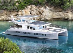 solarwave 64 catamaran luxury solar powered yacht designboom