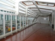 Photo of the fitness pods on deck 5 of the  Harmony of the Seas from USA Today. http://experience.usatoday.com/cruise/story/cruise-lines/2016/02/15/exclusive-first-look-harmony-seas-largest-cruise-ship-ever/80236058/
