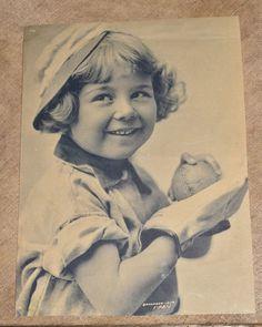 "Antique ""Put Her Over Lefty"" Wyanoak Pub. Advertising Print Girl w/ Baseball"