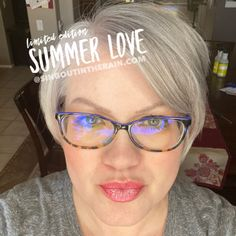 Limited Edition Summer Love LipSense by SeneGence is a cool color. You can view it on people, look at combos or comparisons or even in a collage.  However, nothing rivals seeing it on a real person.  Click to purchase yours NOW!  #lipsense #senegence