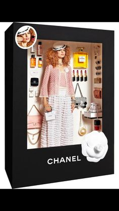 Barbie with Cr 15 collection. Vogue