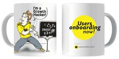 Tazas Personalizadas Growth Hacking - Modelo Pirata – pasionteki.com Tableware, Model, Personalized Cups, Stockings, Dinnerware, Tablewares, Dishes, Place Settings